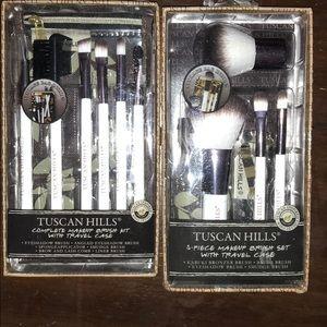 2 makeup brush kits